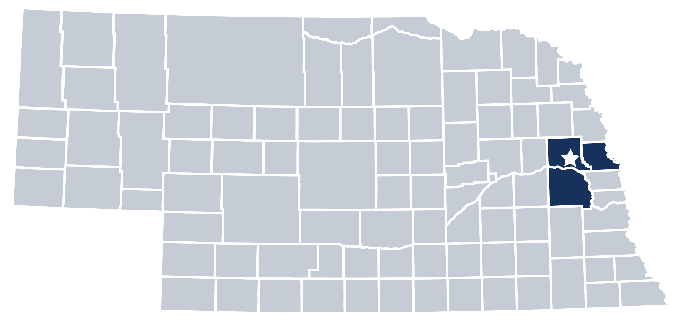 Three Rivers Department Counties
